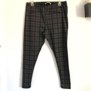 George 12 plaid leggings dress pants